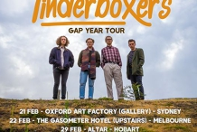 The Tinderboxers Gap Year Tour | Melbourne