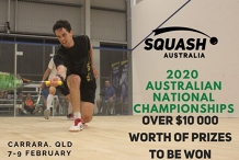 Australian National Championships - February 7 to 9 2020