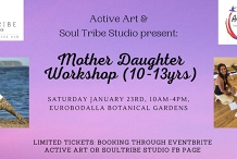 Mother Daughter Workshop (10-13 years)