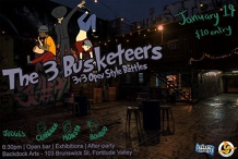The 3 Busketeers | 3v3 Open Style Battles w/ Special GUEST