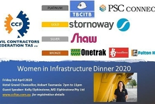 Civil Contractors Federation Tasmania Women in Infrastructure Dinner 2020