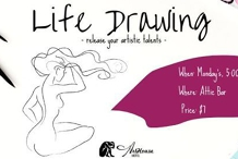 Life Drawing at The ArtHouse Hotel