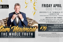 Sam Newman The  Whole Truth Live and Uncensored  at University of Tasmania!