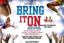 Bring it On! - Cheer Leader theme Easter Thursday