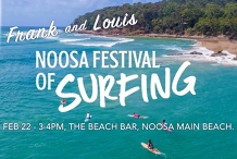 Frank and Louis at Noosa Festival of Surfing