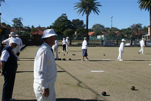 Meet & Play Seniors Festival -  Lawn Bowl at Pratten Park Bowling Club