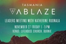 Ablaze Leaders Meeting with Katherine Ruonala