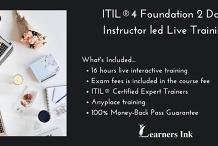 ITIL®4 Foundation 2 Days Certification Training in Devonport