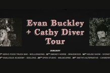 Evan Buckley + Cathy Diver w/ Patrick Ryan // Melbourne