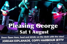 Pleasing George Plays the Blues!