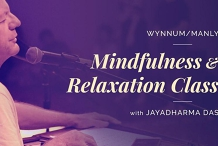 Wynnum/Manly Mindfulness & Relaxation Class with Jayadharma Das