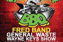Fred Band General Waste Wayne Keys at the Sundayrnrbbq