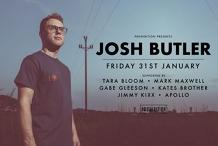 Prohibition presents Josh Butler!