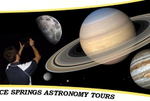 Alice Springs Astronomy Tours   Tuesday September 01 : Showtime 7:00 PM