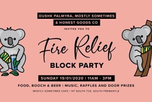 Fire Relief BLOCK PARTY