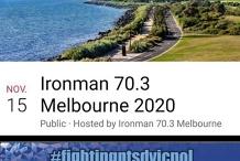 Ironman Melbourne 70.3 Triathlon Event