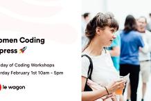 Meetup - The Women's Coding Express 💻🚀