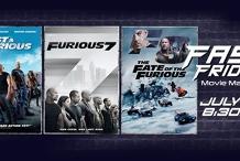 Fast & Furious Marathon this Friday July 10!
