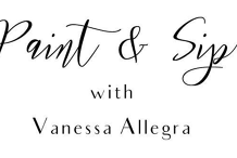 Paint & Sip with Vanessa Allegra
