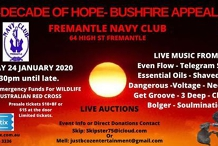 Decade of Hope - Bushfire Appeal