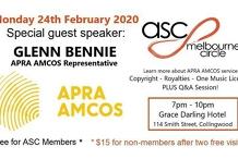 ASC Melbourne Circle - APRA AMCOS Night!