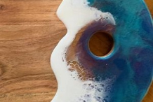 SOLD OUT! Resin cheese board - Queanbeyan