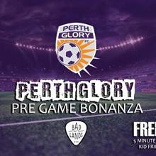Perth Glory Pre-Game in the Badlands Beer Garden