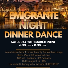 Italian Emigrante Dinner Dance