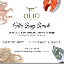 Olio Long Lunch | Seafood BBQ