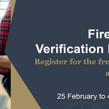 Surveyors/ certifiers |Fire Safety Verification Method webinar