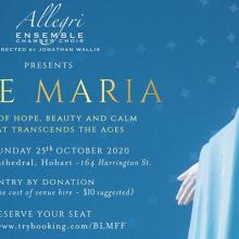 Ave Maria – Allegri Ensemble Chamber Choir