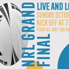 Footy Finals Weekend at the Kingy