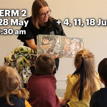 Eye Spy at The Tasmanian Museum and Art Gallery - Term 2
