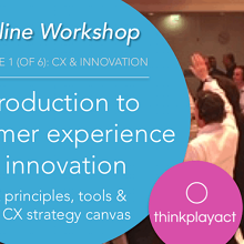 Online Workshop : Introduction to CX & Innovation