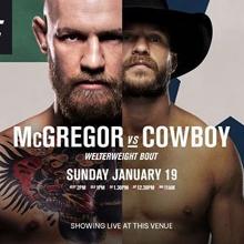 UFC 246: McGregor V Cowboy LIVE at Currumbin Pub