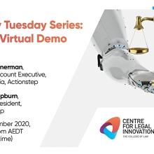 Legal Techy Tuesday Series: Actionstep Virtual Demo