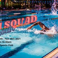 Swim Squad South 2021 - 9.30am