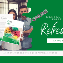 Mental Health First Aid Refresher - Online