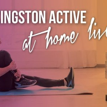 Kingston Active at Home Live – October