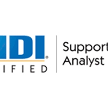 HDI Support Center Analyst 2 Days Virtual Live Training in Melbourne