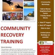 Community Recovery Training
