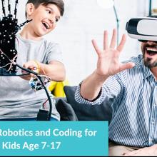 Online Robotics and Coding After School Program For Kids