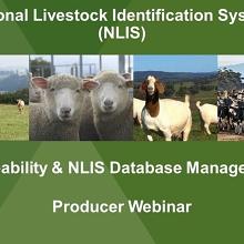 NLIS Database Webinar for Goat Producers