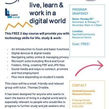 Digital Matter: live, learn & work in a digital world
