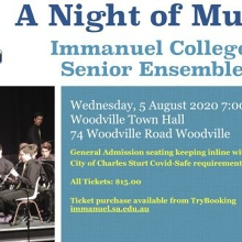 Immanuel College Senior Ensembles present A Night of Music