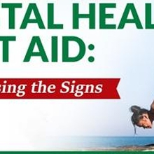 2-Day Standard Mental Health First Aid Training (Choose only 2 Days)