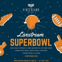 Super Bowl LIV at Hinterland Hotel