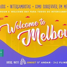 Welcome to Melbourne + Happy Hour: Beer, Snacks e Intercambistas