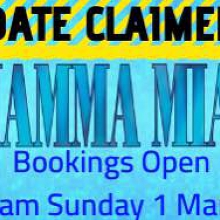 MAMMA MIA the Musical Bookings Open