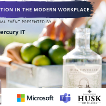 Collaboration in the Modern Workplace with Microsoft - Husk Distillers NSW 27FEB20